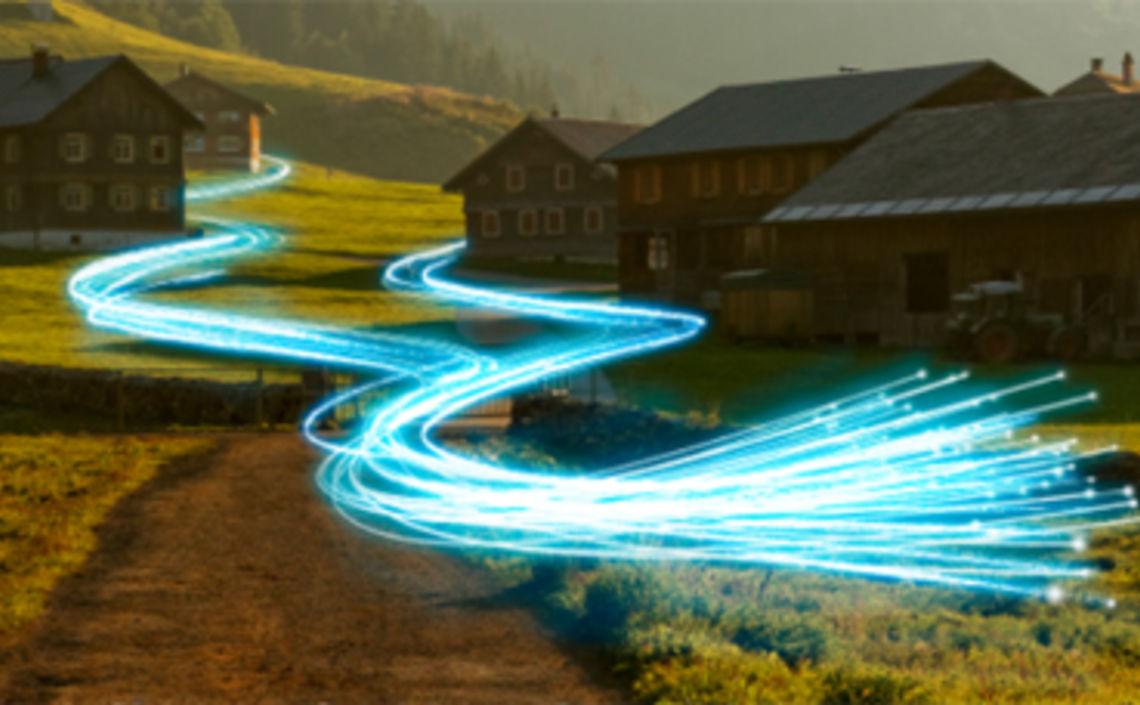 grenzüberschreitender Ausbau der Lichtwellenleiter-Technologie